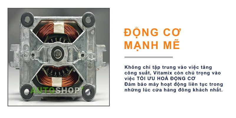 động cơ May Xay Da Nang Vitamix Quiet One