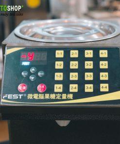 16 nút máy định lượng đường fest