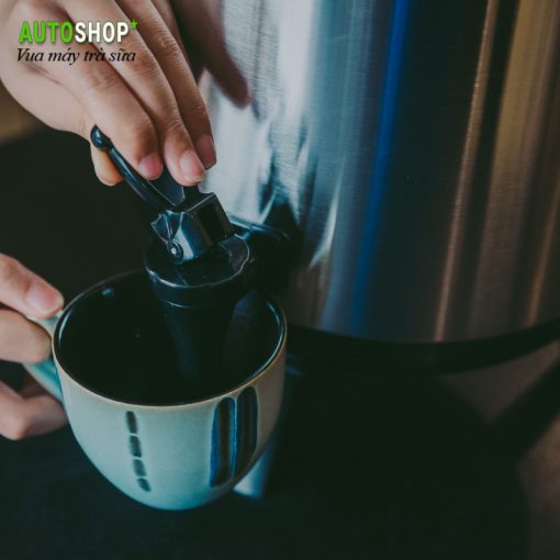Bình ủ trà - giữ nhiệt trà sữa 10l có đồng hồ chuyên nghiệp