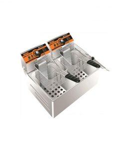 Bếp chiên nhúng điện Verly 2 ngăn