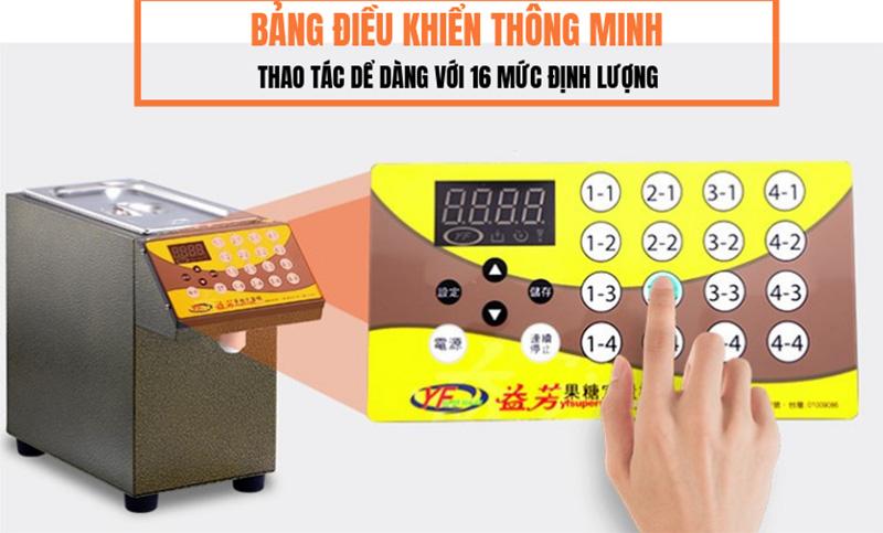 bảng điều khiển Máy định lượng đường YiFang cao cấp