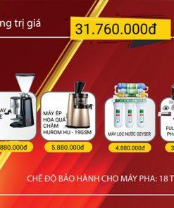 Combo máy pha cà phê nuova simonelli appia ii 1 group