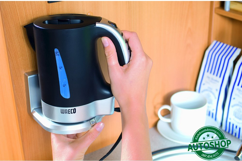 Bình đun Waeco 12V Small Travel Kettle 200 Watts