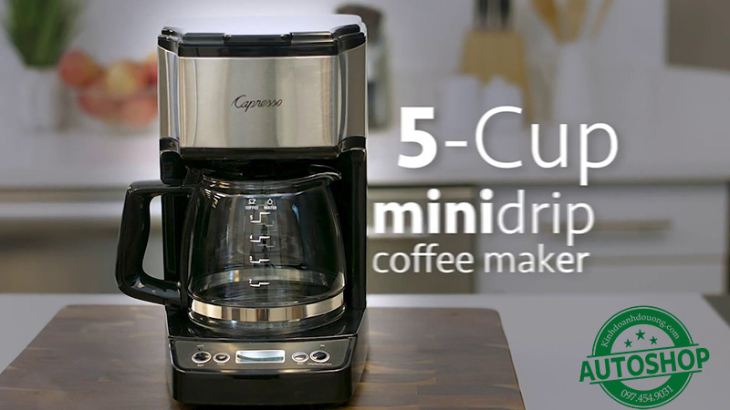 Cappresso 5-Cup Mini Drip