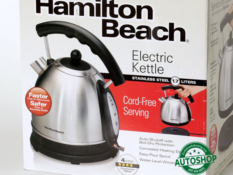 Hamilton Beach Stainless Steel Electric Kettle 40893