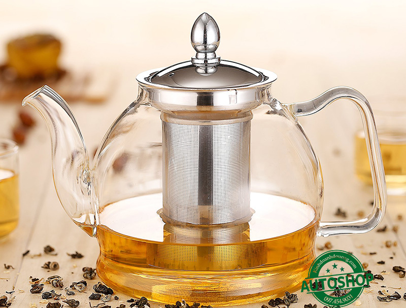 Hiware 1000ml Glass Teapot