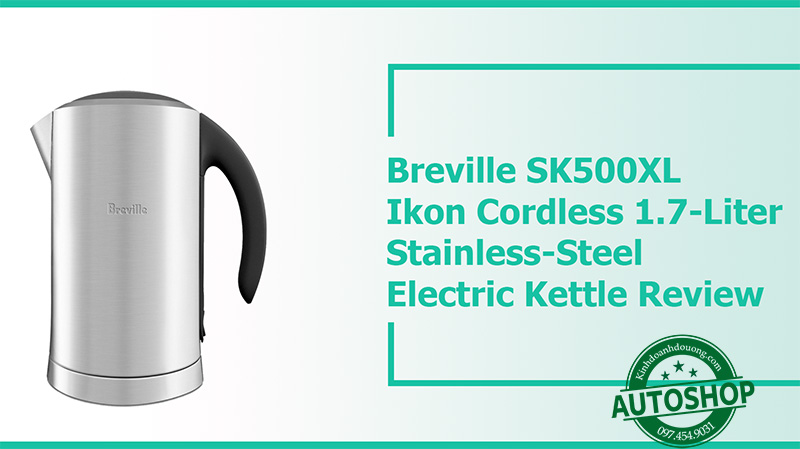Breville SK500XL Ikon Cordless Stainless-Steel