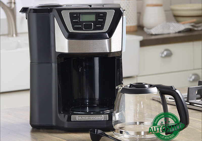 Black + Decker 12 Cup Mill and Brew
