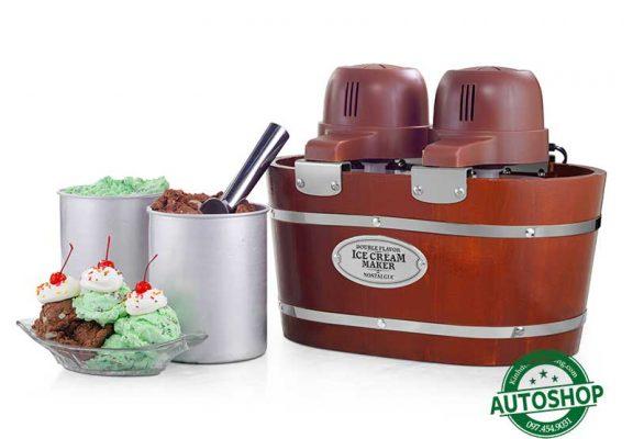máy làm kem tốt nhất Nostalgia 4-Quart Electric Ice Cream Maker