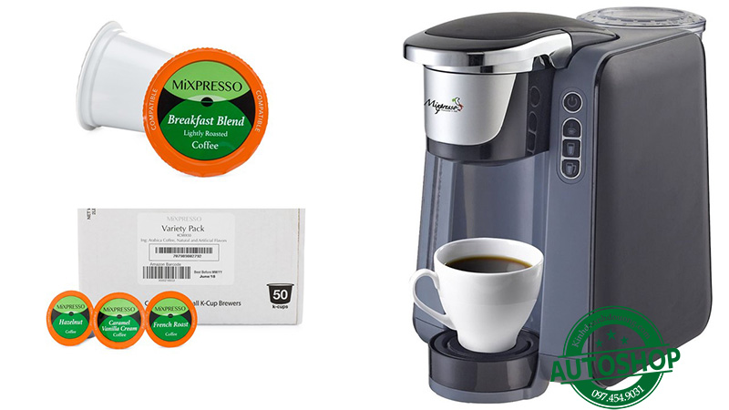 Mixpresso K4GRY00 Single Cup Coffee Maker