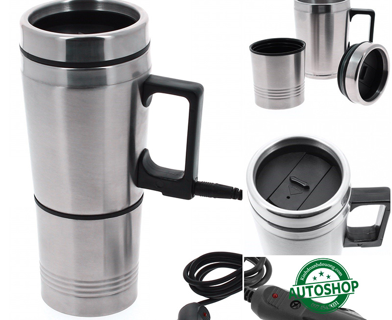 Bình đun Sumex Steel 12V Travel Kettle