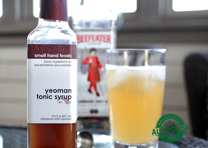 Siro cocktail Yeoman Tonic Syrup