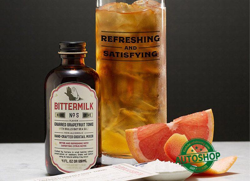 Siro cocktail Bittermilk Charred Grapefruit Tonic