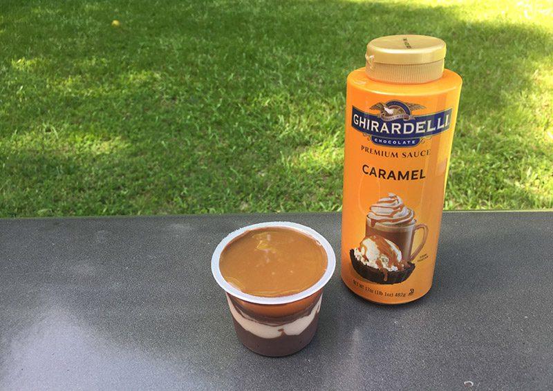 Siro cà phê Ghirardelli Squeeze Caramel, Chocolate