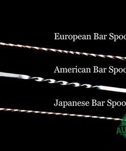 Các loại thìa bar