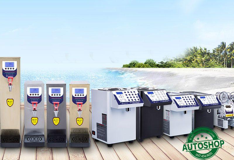 các loại máy pha chế đồ uống