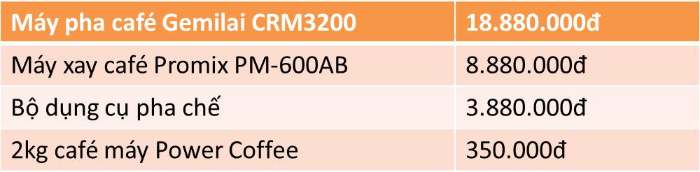 combo-máy-cà-phê-gemilai-crm-3200