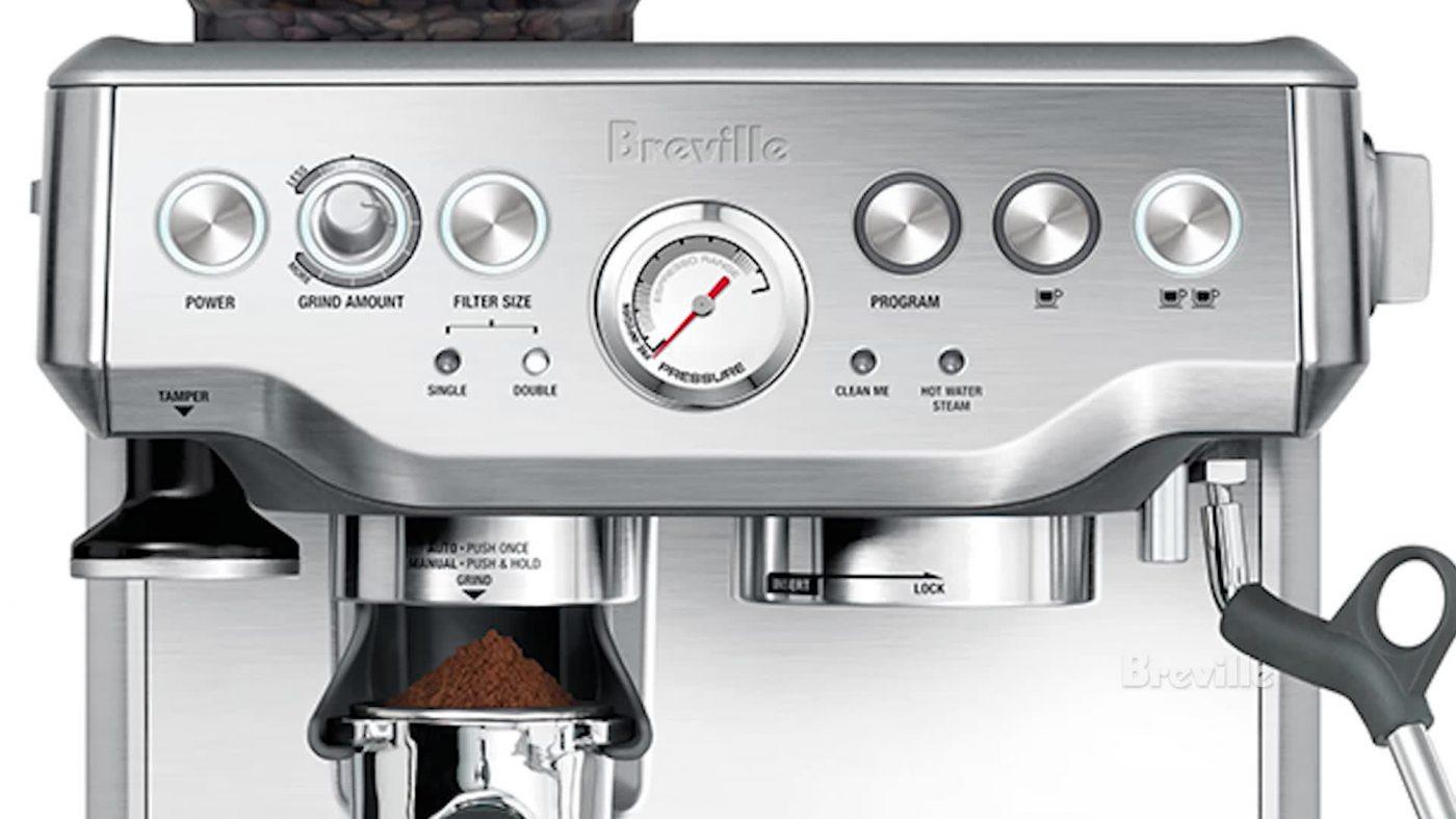 Thiết kế máy pha cafe Breville BES870XL