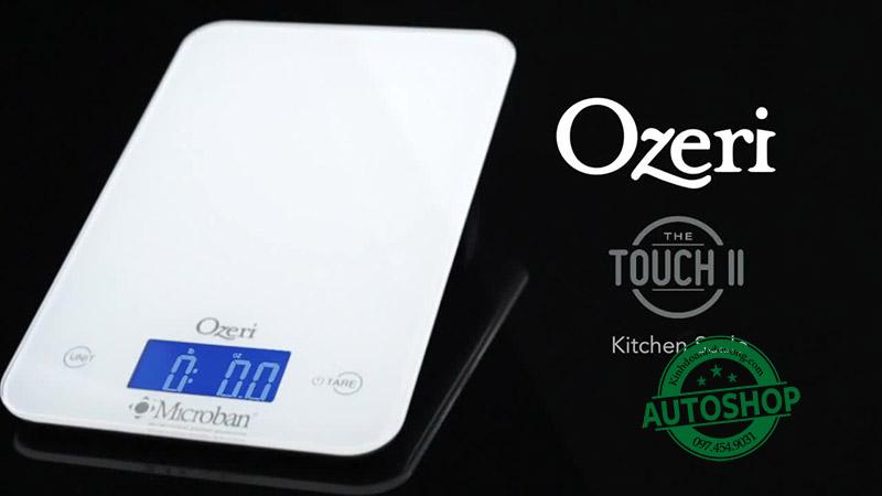 Cân điện tử nhà bếp Ozeri Touch II