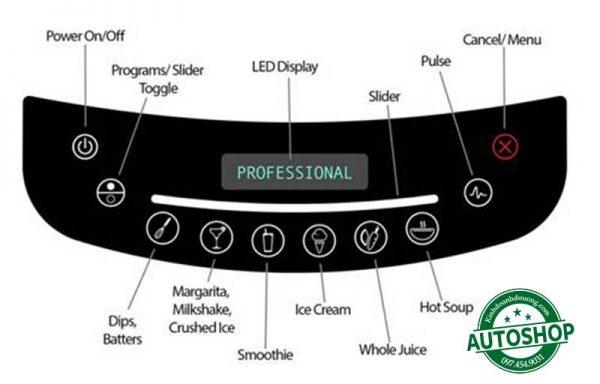 bảng-điều-khiển-Máy-xay-sinh-tố-công-nghiệp-Blendtec-Professional-800