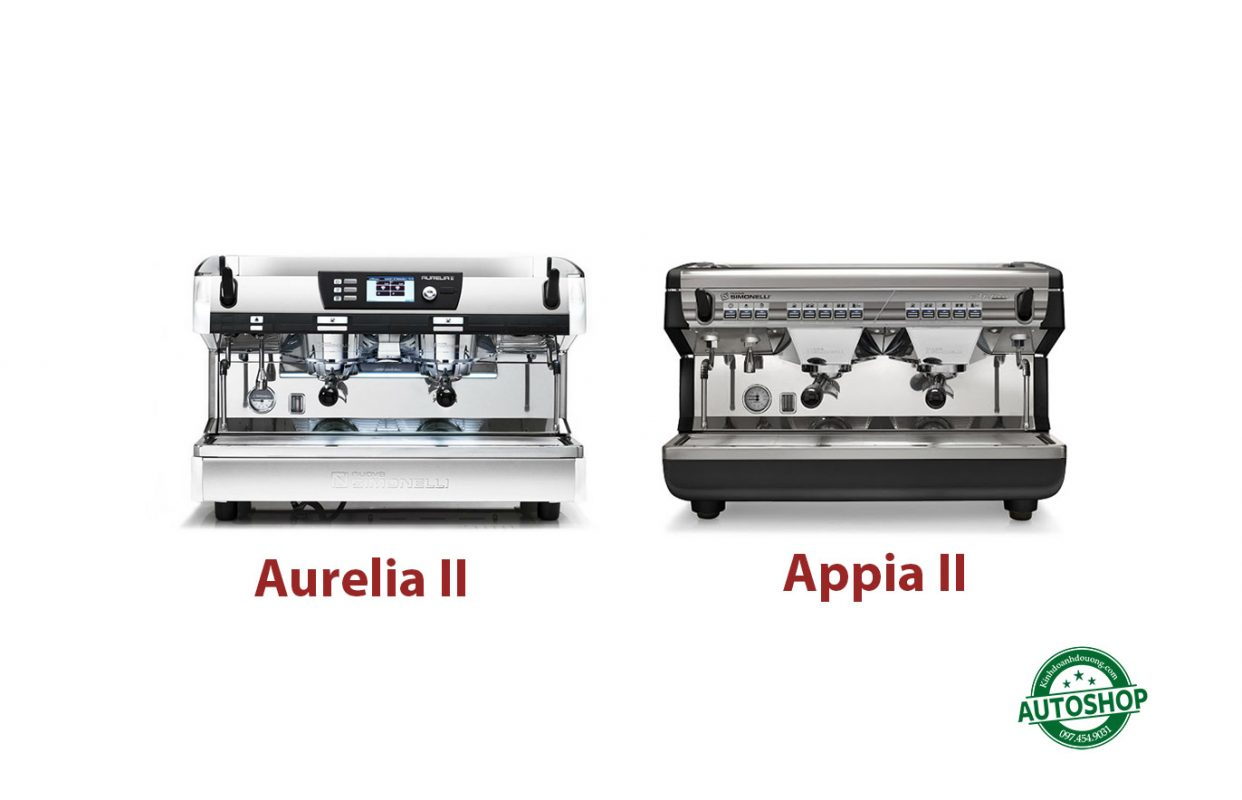 So-sánh-máy-pha-cà-phê-Nuova-Simonelli-Appia-II-vs-Aurelia-II