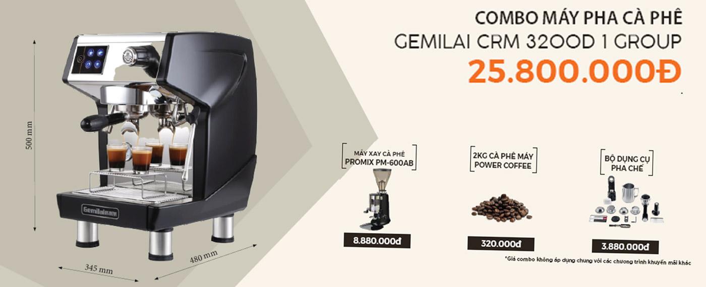 máy-pha-cà-phê-gemilai-crm-3200d