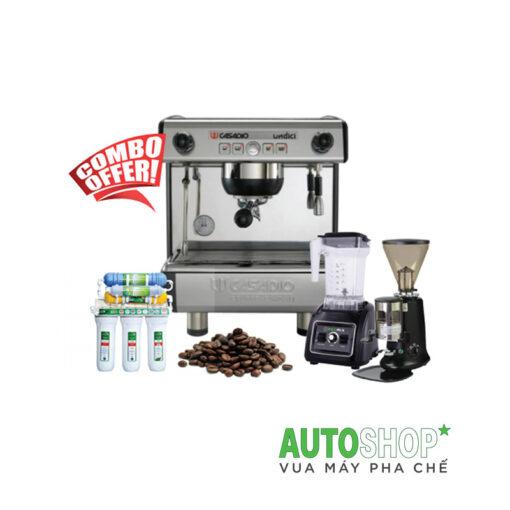 combo-máy-pha-cafe-casadio-undici-a1
