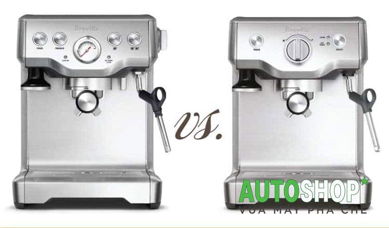 So-sánh-máy-pha-cà-phê-Breville-Infuser-và-Duo--Temp-Pro